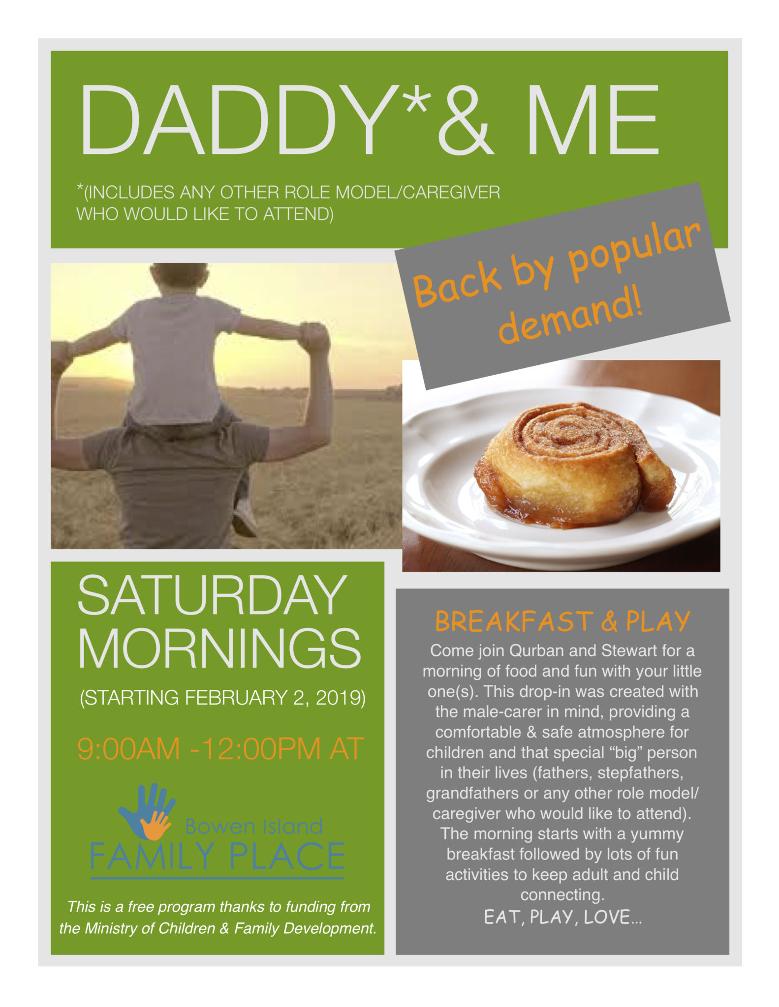 Daddy & Me is back!