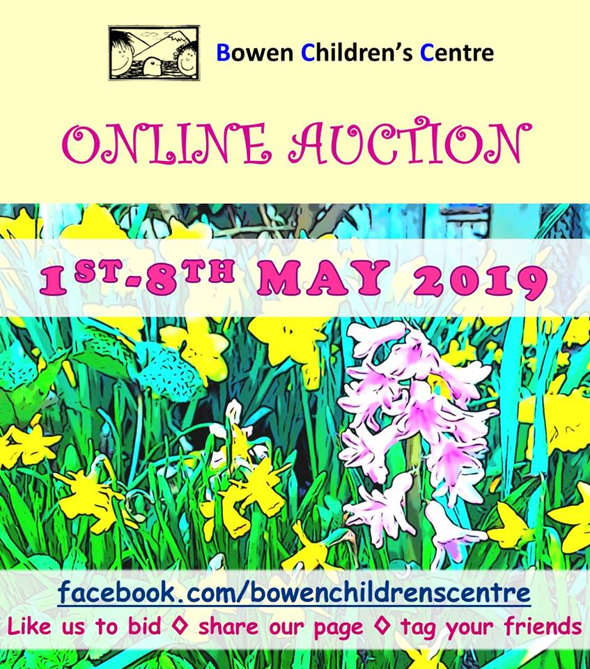 BCC Online Auction is May 1st – 8th!